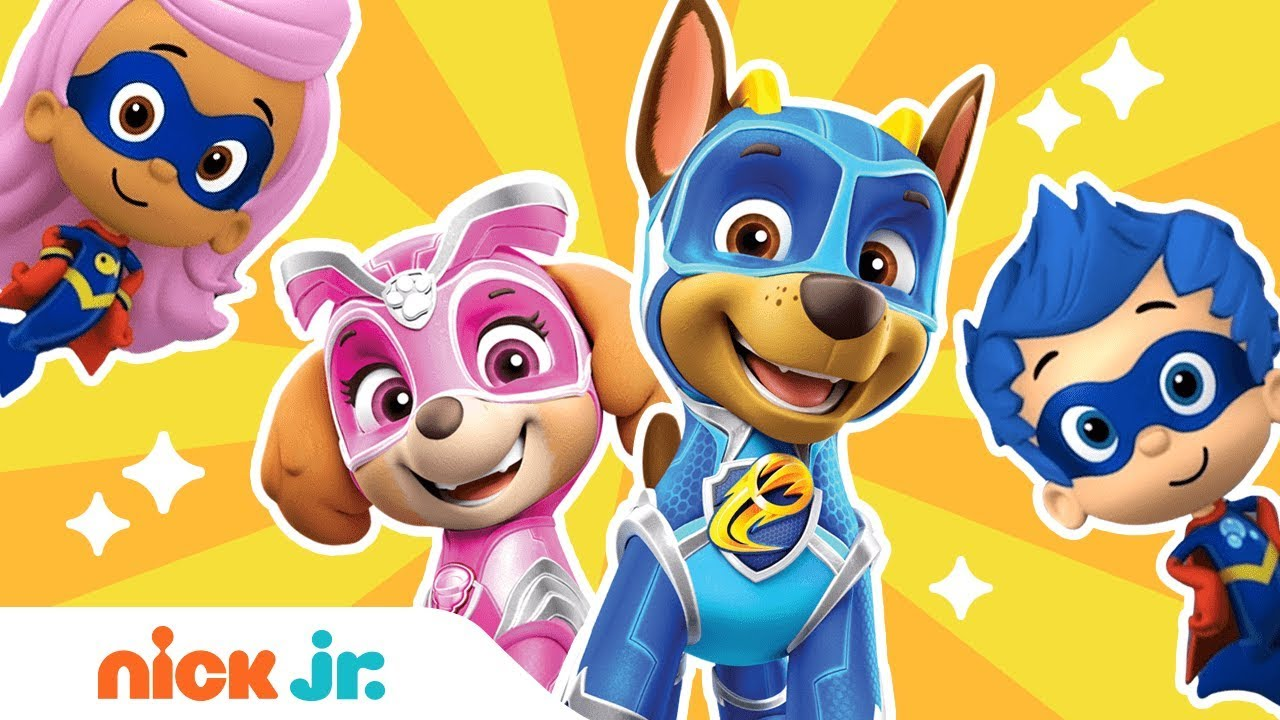 Hero Songs Ft Paw Patrol Mighty Pups Bubble Guppies More