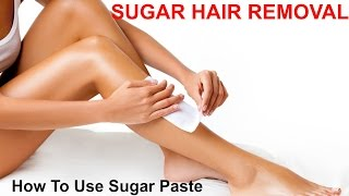 Sugaring Hair Removal - Part 2 - Ms Toi