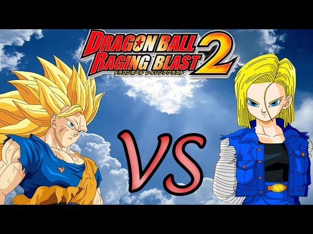 Dragon Ball Z Raging Blast 2 | Goku SSJ3 vs Android n°13,n°14,n°16,n°17 e n°18 Gameplay Travel Video