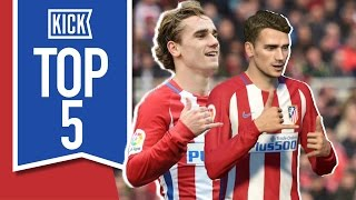 Top 5 FIFA Strikers In Real Life
