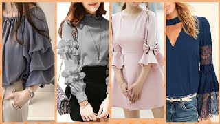 Most tranding blouse sleeves designs collection 2019