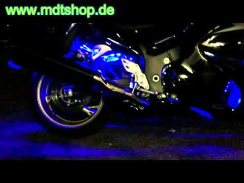 led rgb multicolor motorrad beleuchtung styling tuning zubeh r teile youtube. Black Bedroom Furniture Sets. Home Design Ideas