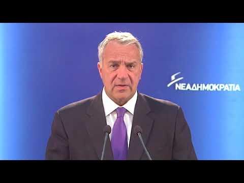 Δήλωση Μάκη Βορίδη για το εκλογικό σύστημα στις αυτοδιοικητικές εκλογές