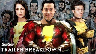 Shazam! Trailer Breakdown: The New 52 Origin Story Explained | SuperSuper
