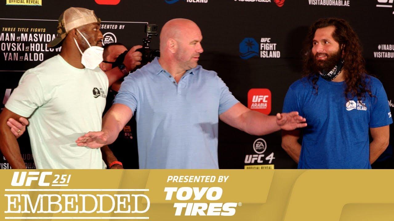 UFC 251 Embedded: Vlog Series - Episode 6