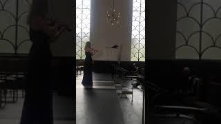 J.S Bach Chaccone - Cæcilie Balling
