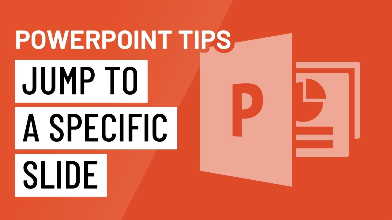 PowerPoint Quick Tip: Jump to a Specific Slide