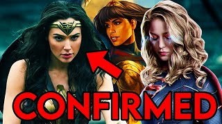 Wonder Woman CW Show CONFIRMED! - Wonder Girl Crossover Teaser Breakdown