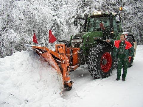 Winterdienst beim Maschinenring