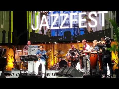 Bobby Valentín Puerto Rico Heineken Jazz Fest 2017