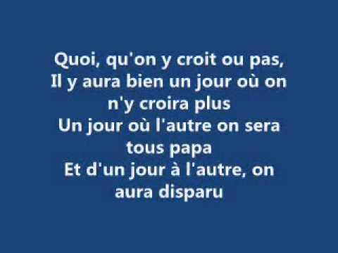 Papaoutai - Stromae [Paroles]