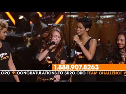 Beyonce, Carrie Underwood, Mariah Carey, Miley Cyrus, Natasha Bedingfield, Nicole Scherzinger, Rihanna and more   Just Stand Up!