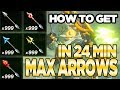 7 Ways to Get MAX ARROWS  1 IN 24 MINUTES!  in Breath of the Wild  Austin John Plays