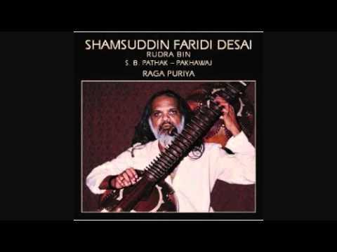 Shamsuddin Faridi Desai - Dhrupad- Raga Puriya