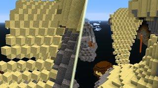 Najpiękniejszy Widok w Minecraft! - Pustynny Świat!
