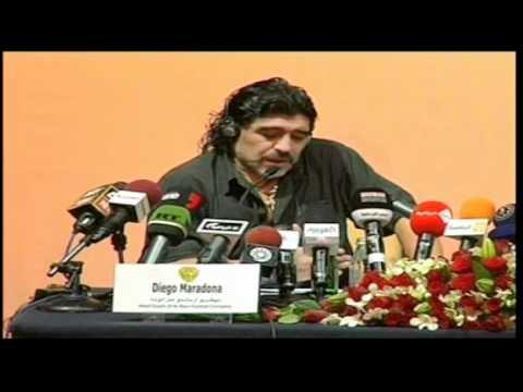 Maradona criticó a la FIFA