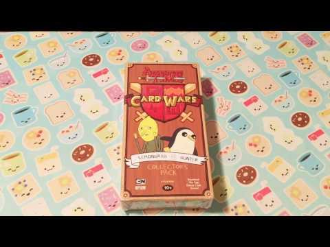 Adventure Time Card Wars Lemongrab Vs. Gunter Collector's Pack