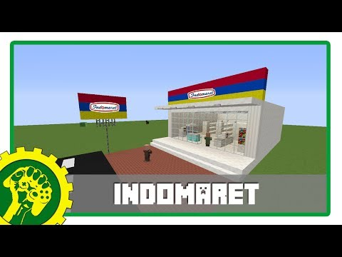 Minecraft Tutorial - Membuat Indomaret