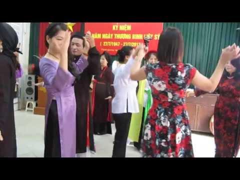 CLB THÁI THỊNH :  Cùng nhau vui múa LĂM VÔNG