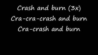 Crash and burn lyrics Jesse McCartney
