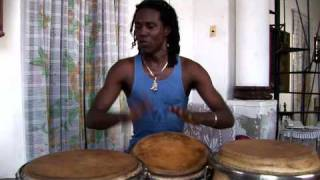 �������� ���� Solo on 3 Congas by Adonis Panter Calderon ������