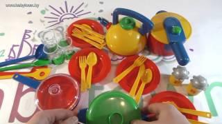 Игрушка Klein набор посуды 9194