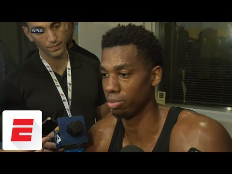 Heat's Hassan Whiteside talks about rant after being benched late in close game | NBA on ESPN