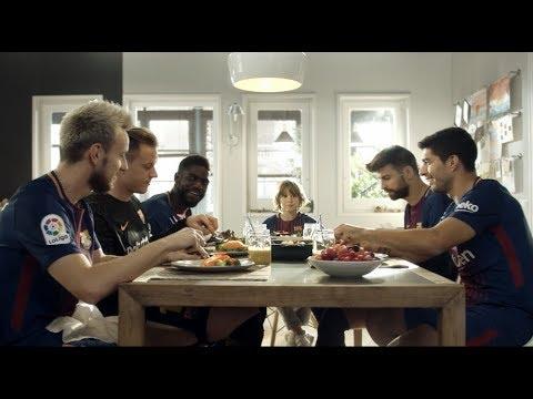 Beko & FC Barcelona | #EatLikeAPro thumbnail