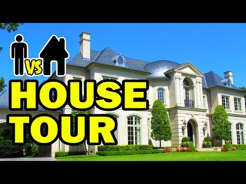 🏠 HOUSE TOUR !!! - Man Vs House Episode #8