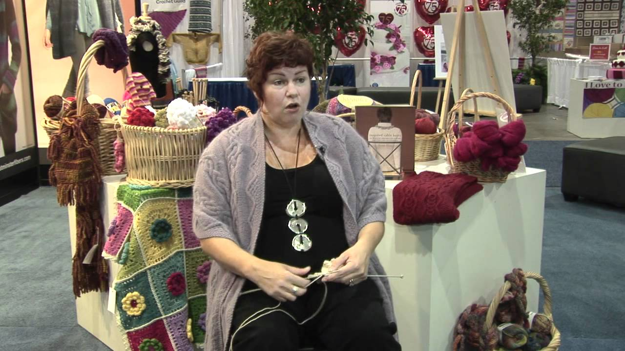The Basic Cable Knitting Lesson with Fiona Ellis - YouTube