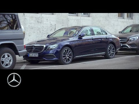 Remote Parking Pilot & Parking Pilot in the new E-Class – Mercedes-Benz original