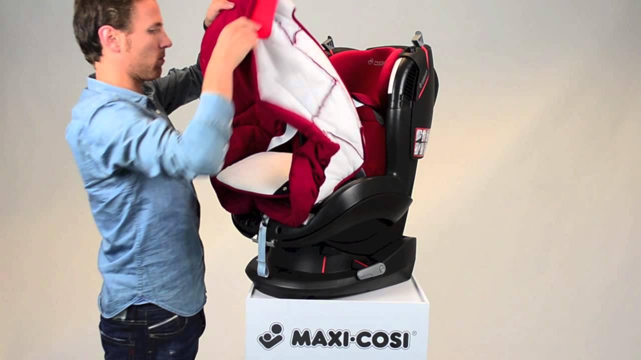 Maxi Cosi Tobi How To Remove The Cover Youtube