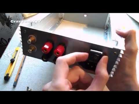 Homemade amplifier enclosure - TUTORIAL