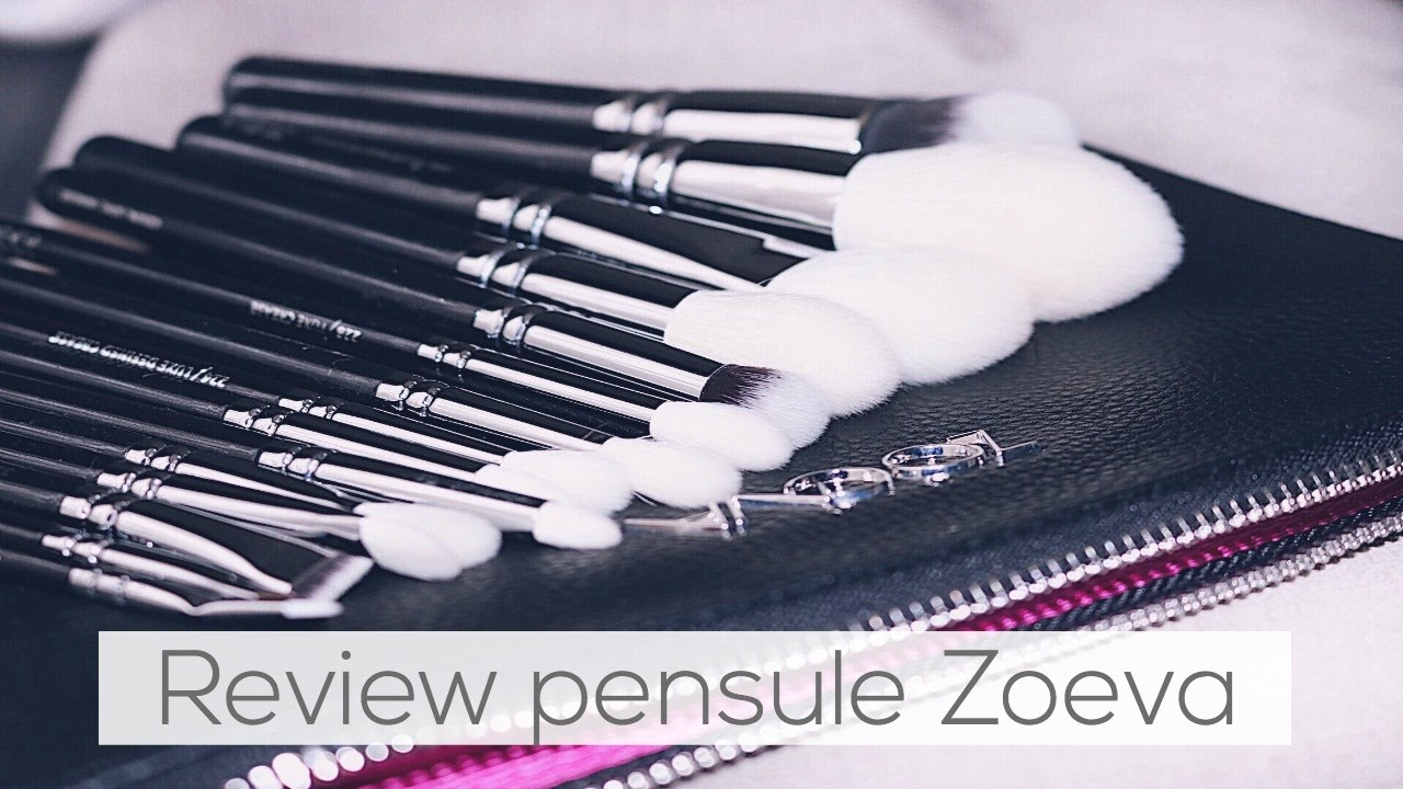 Review Pensule Zoeva Luxe Complete Set Zoeva Youtube