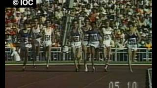Sebastian Coe wins 1500m Gold - Moscow 1980 Olympics