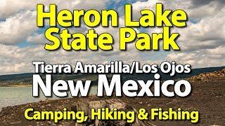 Heron Lake State Park - New Mexico Camping, Hiking & Fishing! - UHD 4k