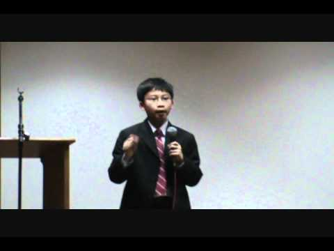 Education Inspirational Speech For Parents By Khang Tuong Nguyen 11yrs Old Youtube