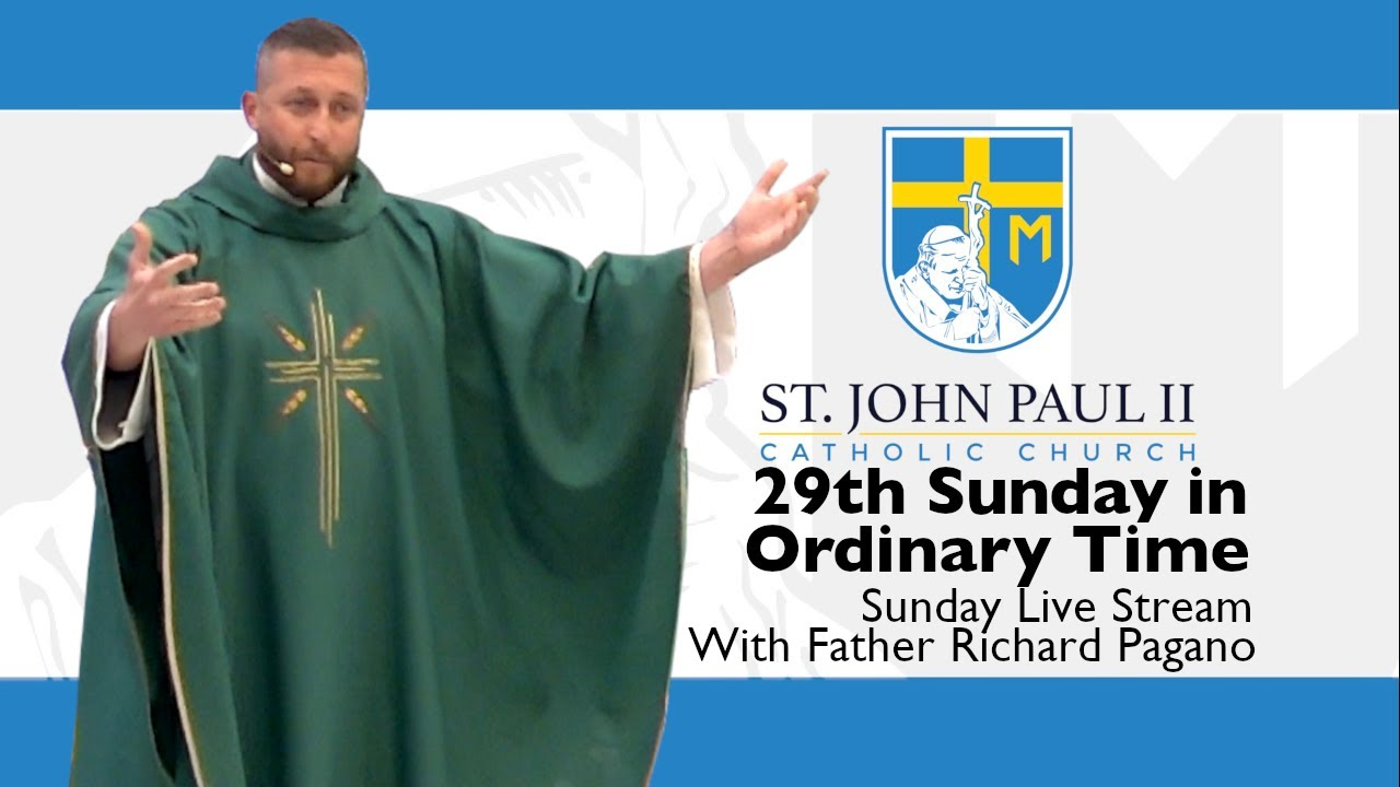 Download SJP2-29th Sunday in Ordinary Time with Father Richard Pagano