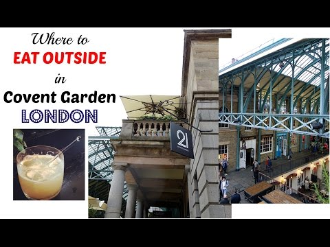 Places to Eat in Covent Garden Outside