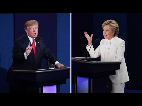 Trump Calls Clinton 'Nasty Woman' At Debate After Touting Respect for Women