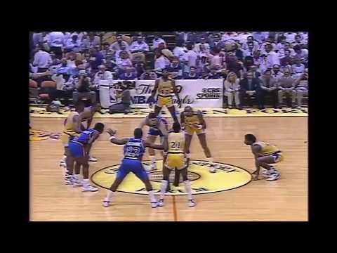 James Worthy (40p) - Highlights Pistons@Lakers 1989 NBA Finals Game 4