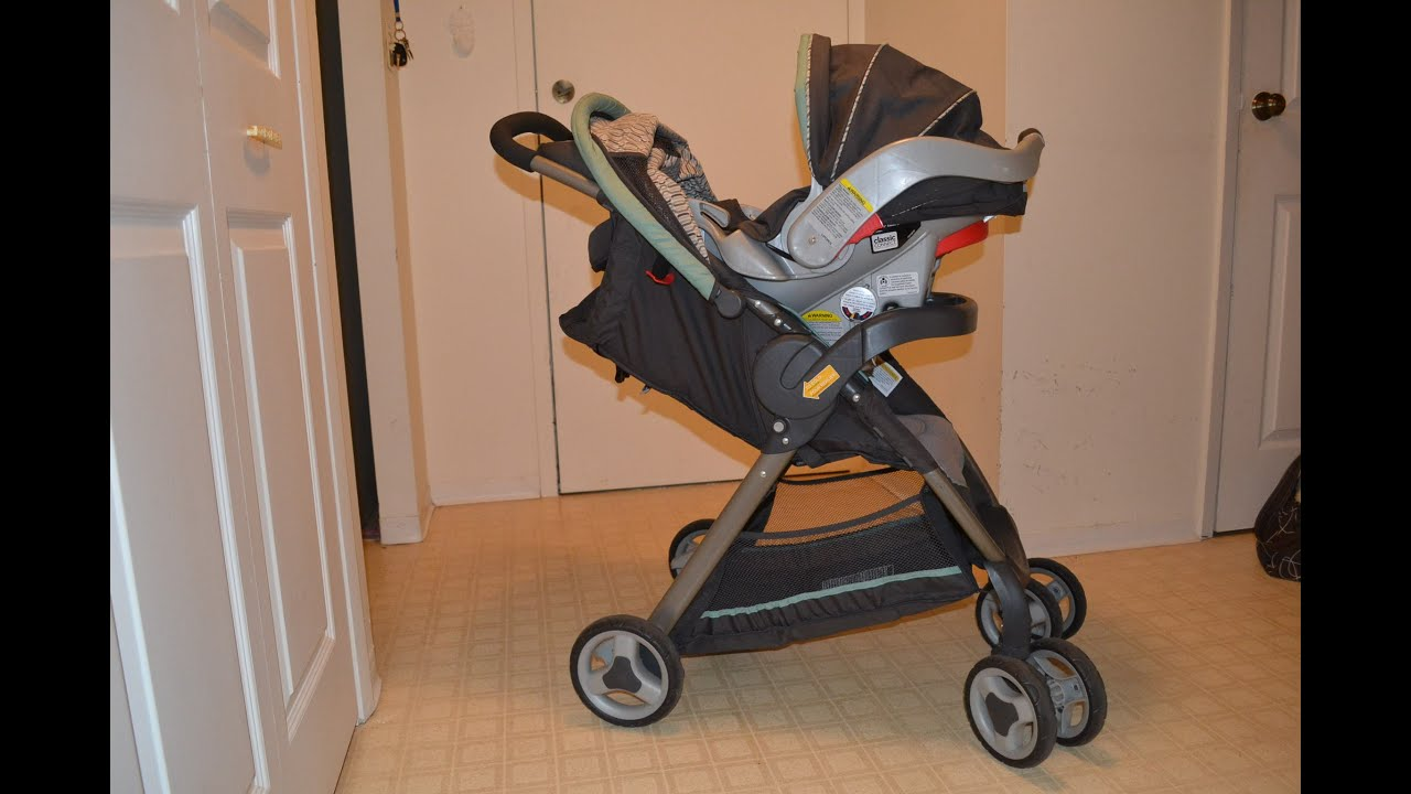 f8733830a Graco FastAction Fold Classic Connect Travel System Review! - YouTube
