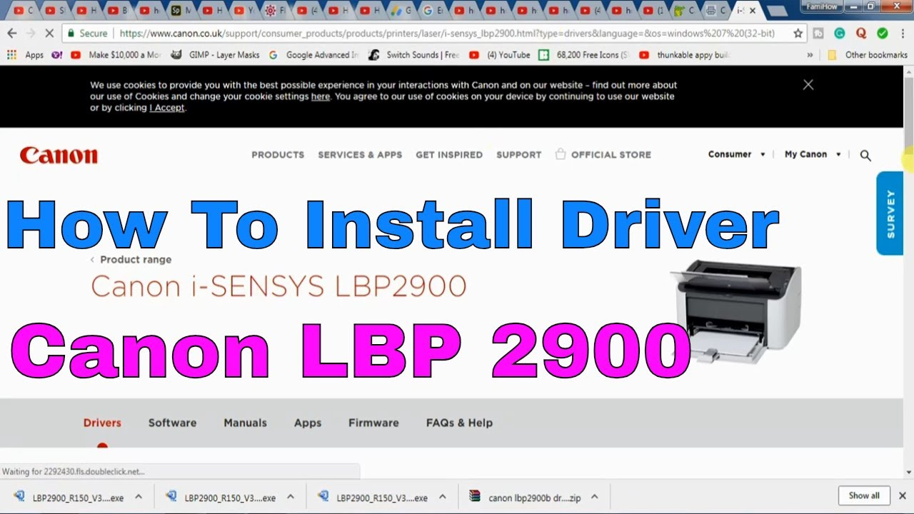 lbp 2900 driver windows 7 32 bit