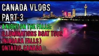 """Illuminations"" Niagara Falls Boat Tour 