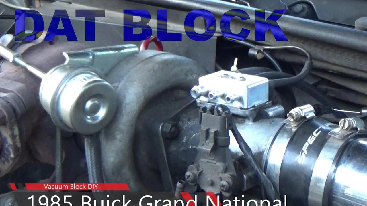 1985 grand national vacuum block diy youtube rh youtube com 1977 Buick Regal 1984 Buick Regal