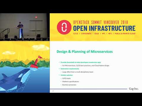 How The Gap Uses Open Source Technologies - including OpenStack and Cloud Foundry - to Drive One of