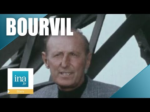 Bourvil 'Pourquoi je tourne avec Jean-Pierre Mocky ?' - Archive INA