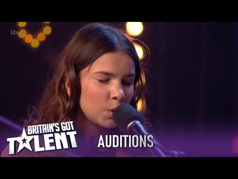 SHY 14 Year Old Might Be Blind..But Her Talent..Shines Through..WOW!| Britain's Got Talent 2020