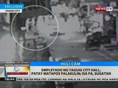 BT: Empleyado ng Taguig City Hall, patay matapos palakulin
