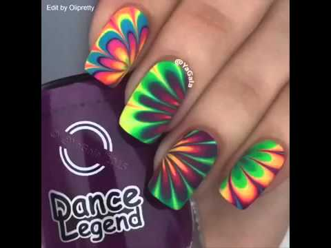 Amazing Nails Art By Yagala Youtube
